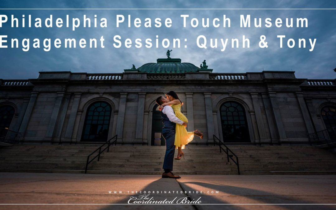 "Philadelphia ""Please Touch"" Museum Whimsical Engagement Session: Quynh & Tony"