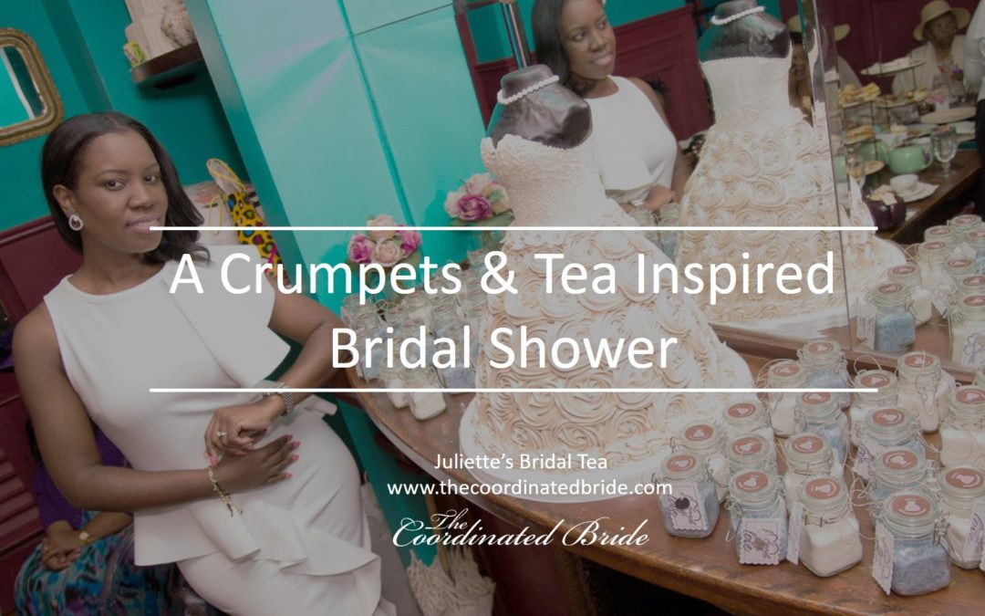 A Crumpets and Tea Inspired Bridal Shower for The Coordinated Bride