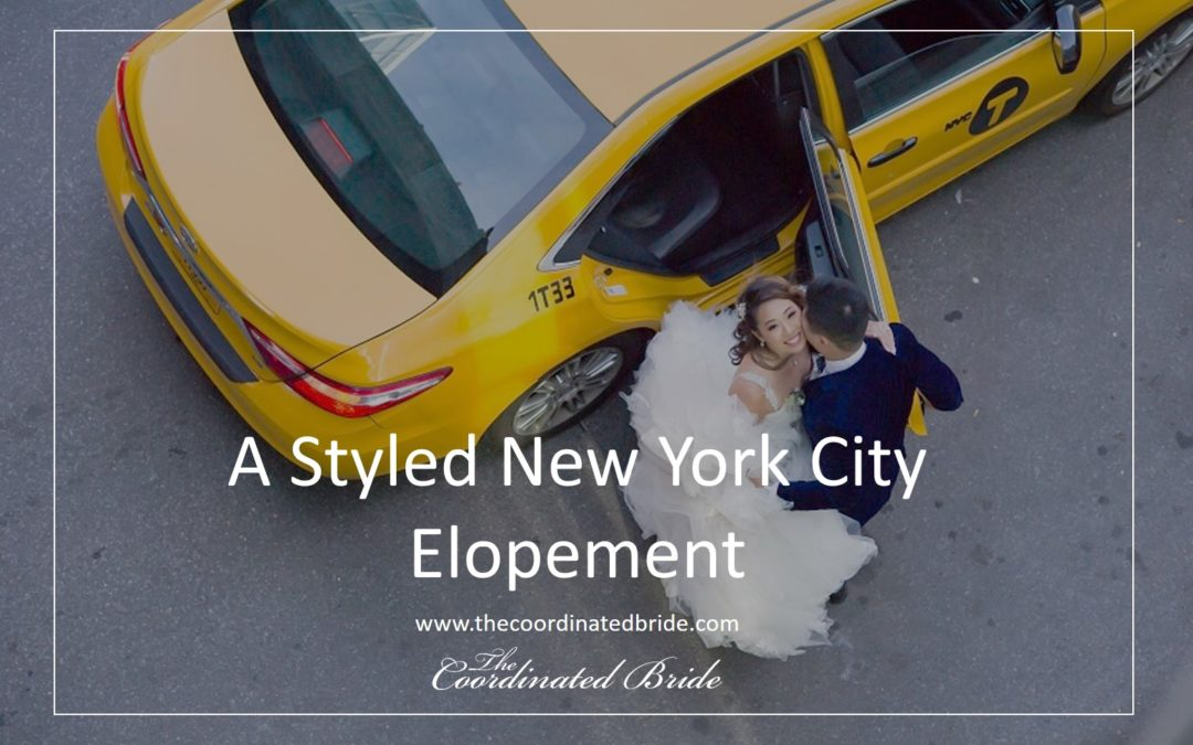 A Romantic New York Elopement, Captured by Belinda Photography