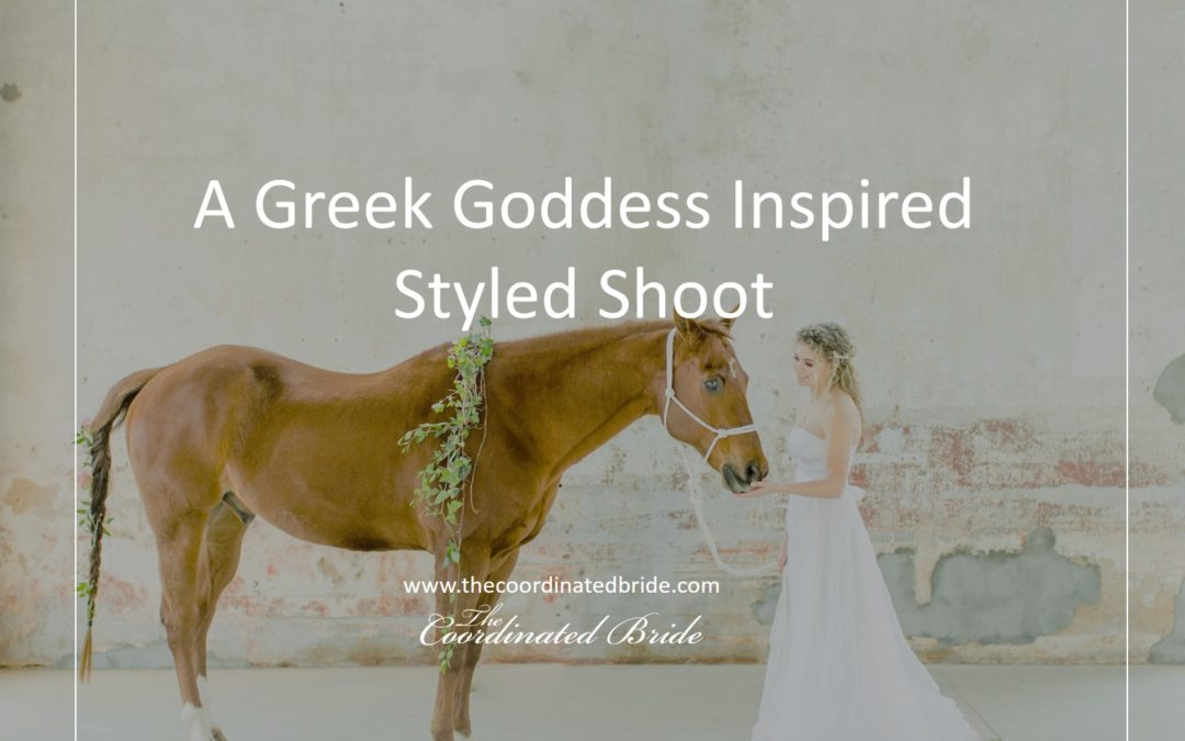 Greek Goddess Styled Shoot