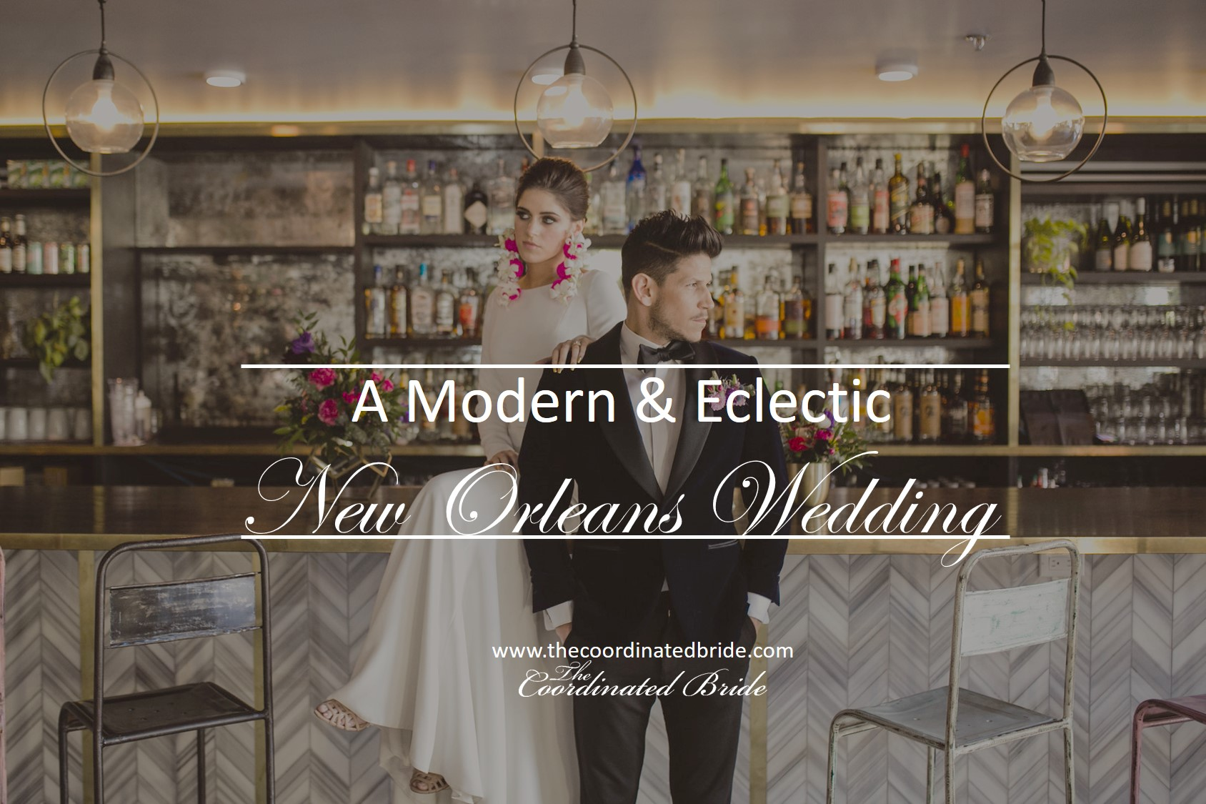 A Modern Eclectic Wedding in New Orleans