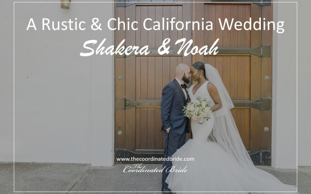 An Urban, Rustic & Chic California Wedding – Shakera & Noah
