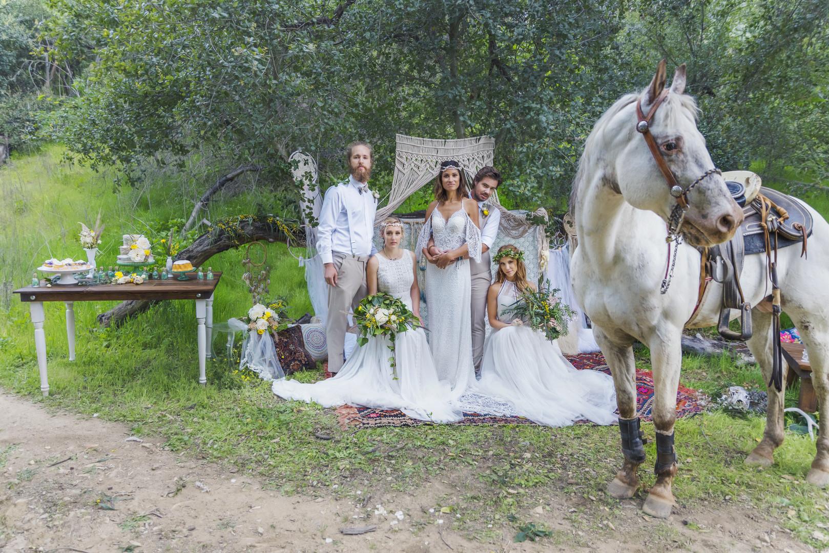 A California Bohemian Summer Festival Wedding The