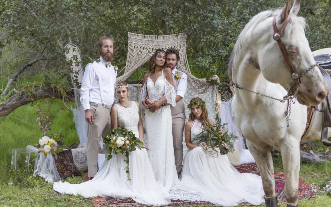 A California Bohemian Summer Festival Wedding