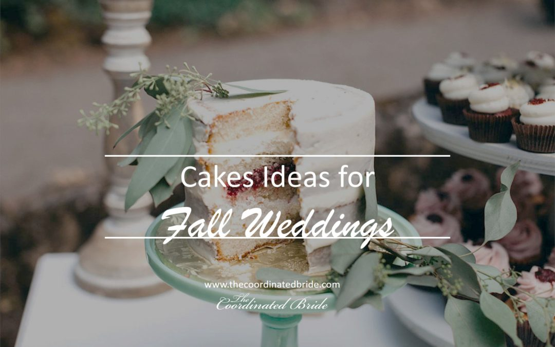 Wedding Cake Ideas for Fall