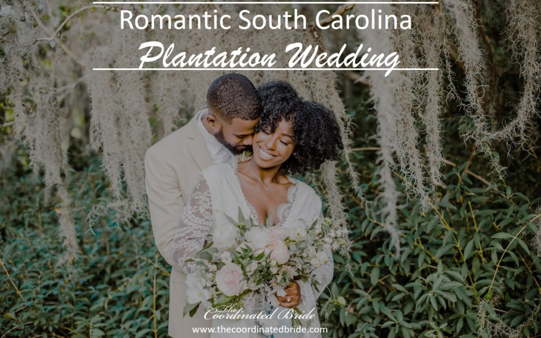 A Romantic South Carolina Plantation Wedding