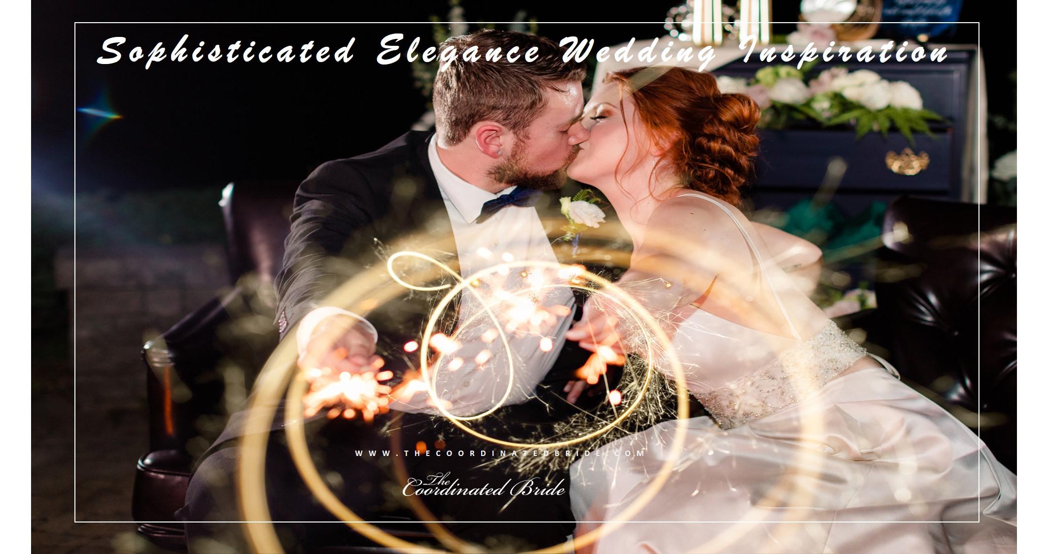 Sophisticated Elegance Wedding Inspiration Shoot