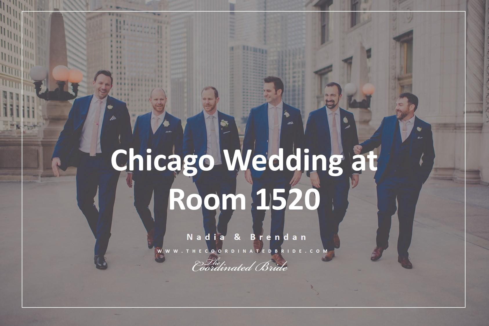 Romantic Blush & Gold Chicago Wedding Day