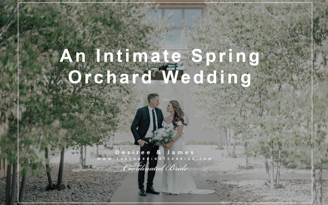 An Intimate Spring Wedding at Harmony Meadows – Desiree & James