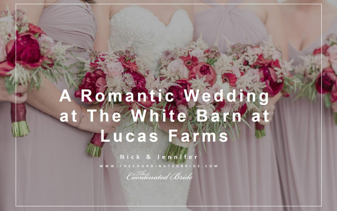 Romantic Wedding Day | The White Barn at Lucas Farms