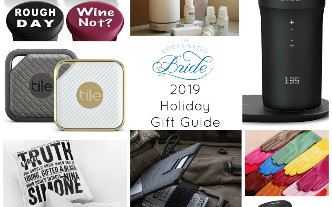 The Coordinated Bride 2019 Holiday Gift Guide