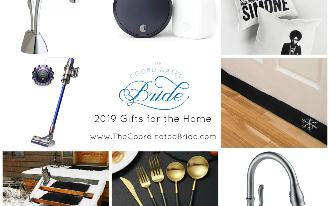 The Coordinated Bride 2019 Holiday Gift Guide – Gifts For the Home