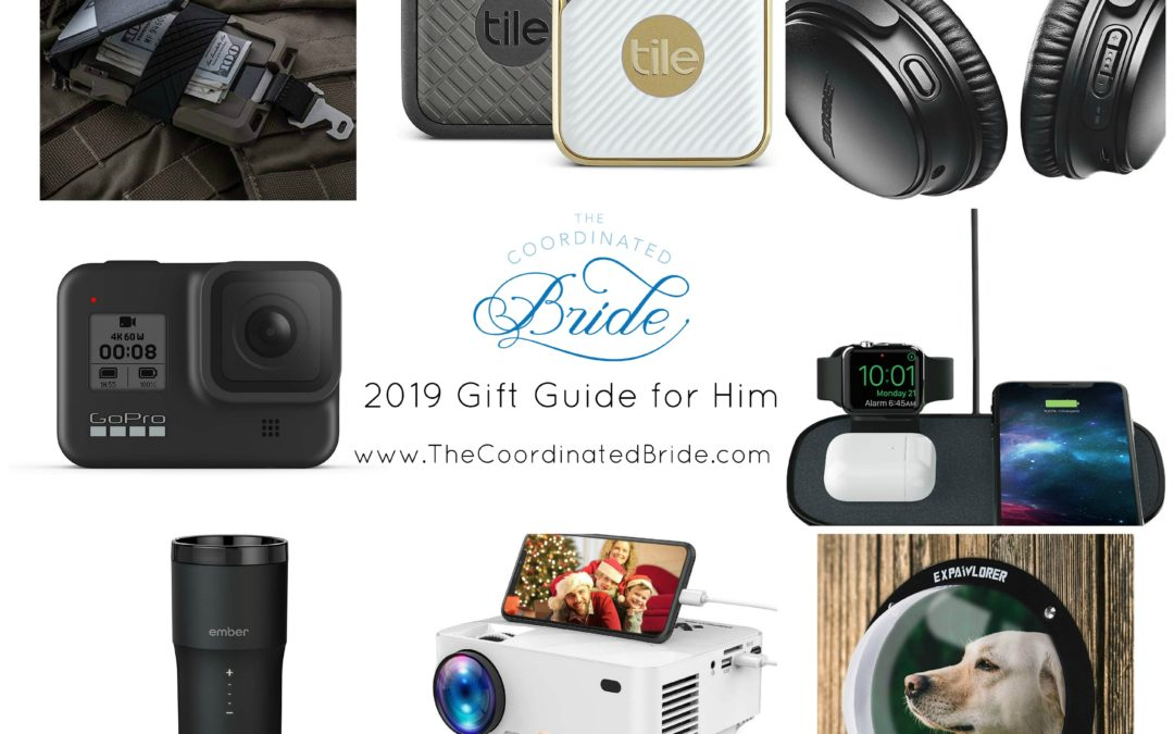 The Coordinated Bride 2019 Holiday Gift Guide – Tech Gifts For Him