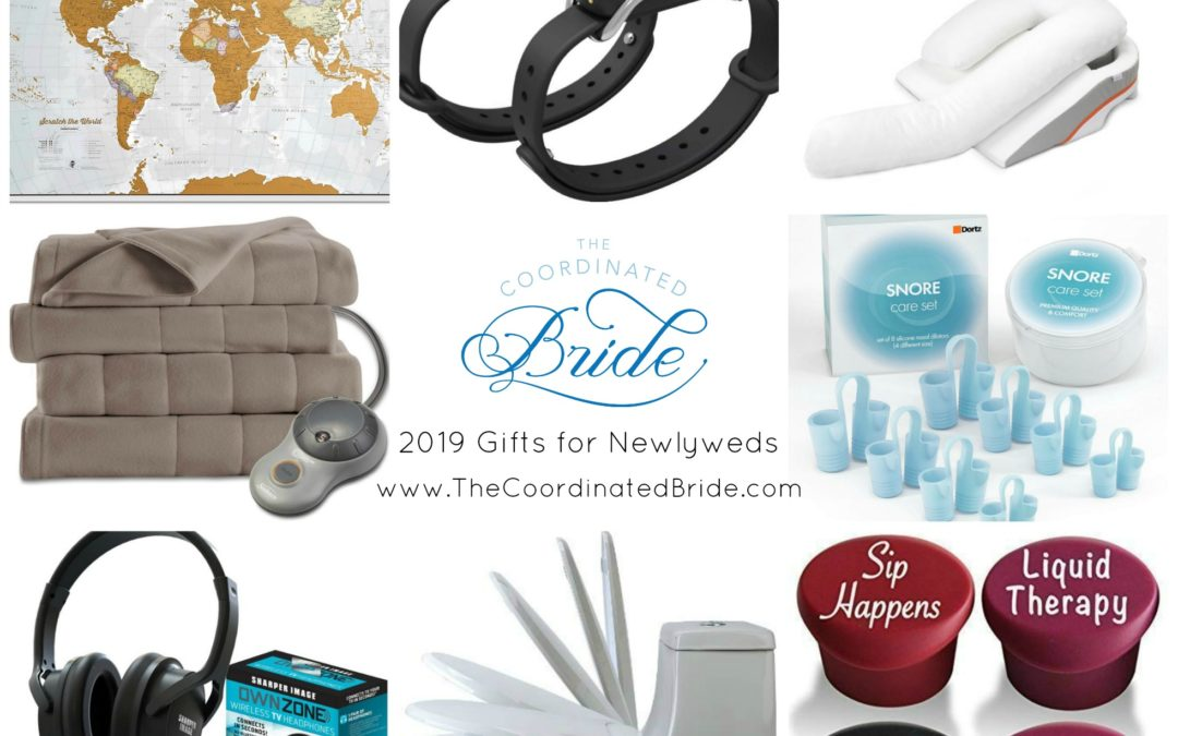 The Coordinated Bride 2019 Holiday Gift Guide – Gifts For Newlyweds