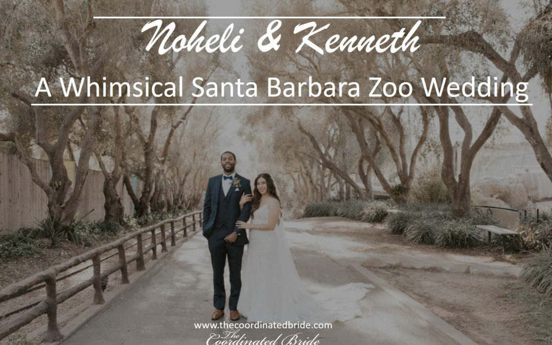 Whimsical Santa Barbara Zoo Wedding: Noheli & Kenneth