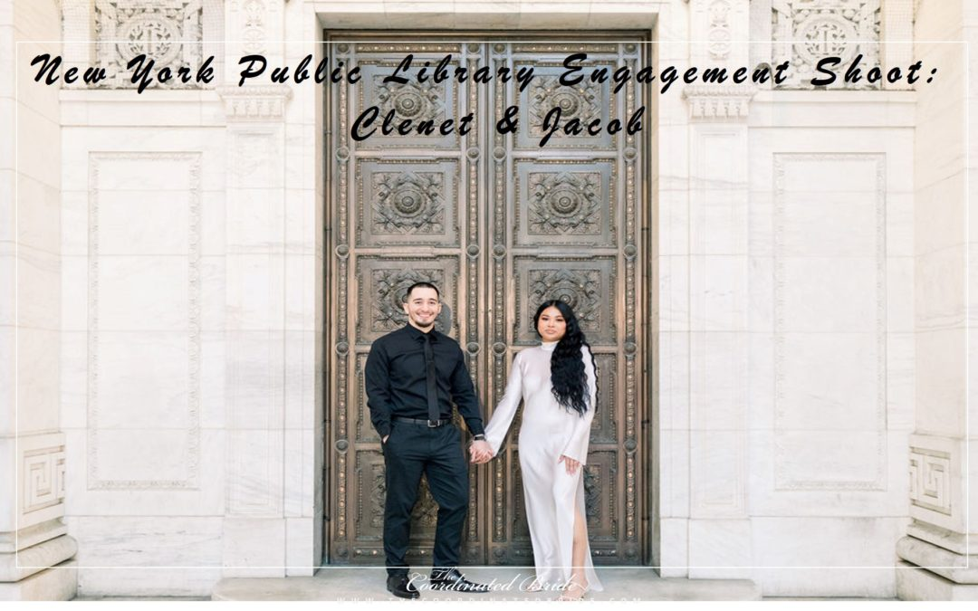New York Public Library Engagement Shoot: Clenet & Jacob