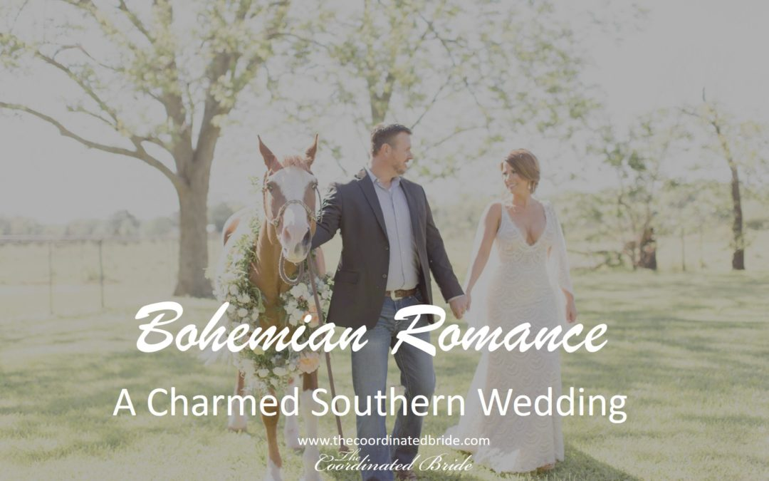 A Bohemian Wedding With A Horse, Romance Meets Southern Charm
