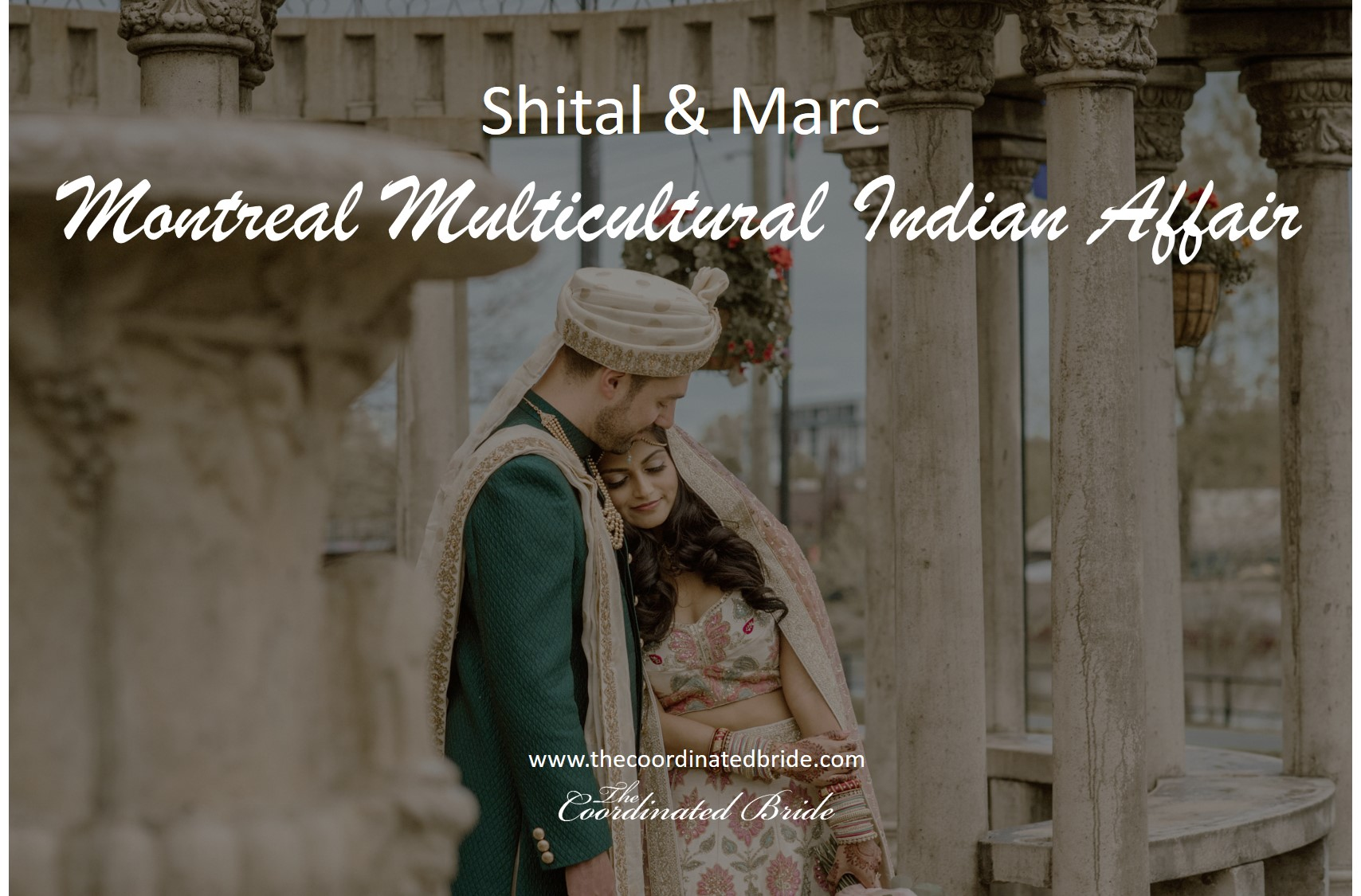 Shital and Marc's Montreal Multicultural Indian Affair