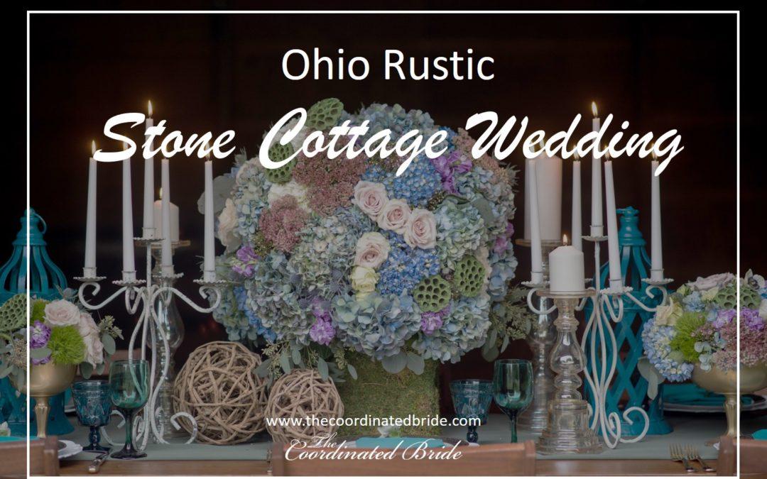 Ohio Soft & Rustic Stone Cottage Wedding Inspiration – Hines Hill