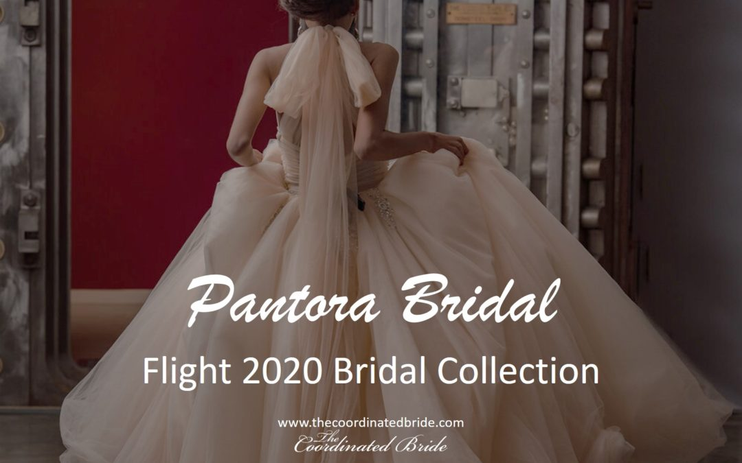 "Pantora Bridal 2020 Collection – ""Flight"""