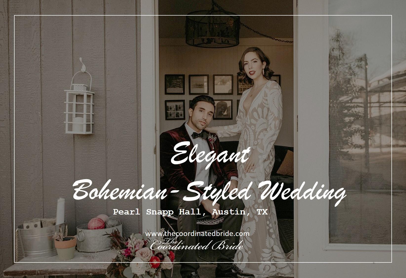 An Elegant Bohemian Texas Wedding at Pearl Snap Hall