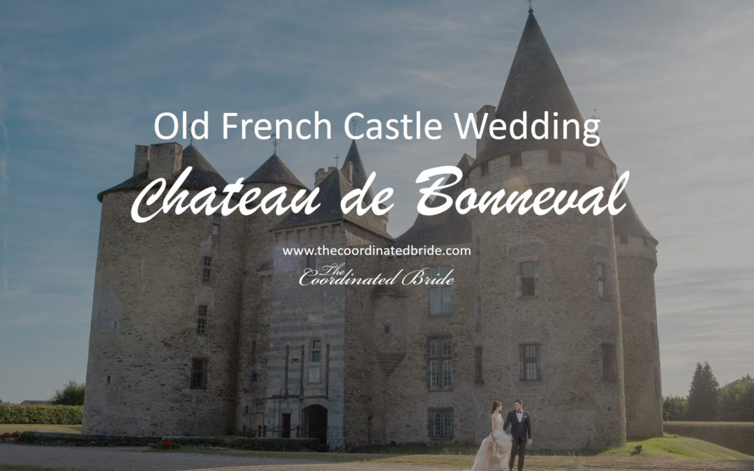 Old French Castle Wedding Inspiration at Chateau de Bonneval
