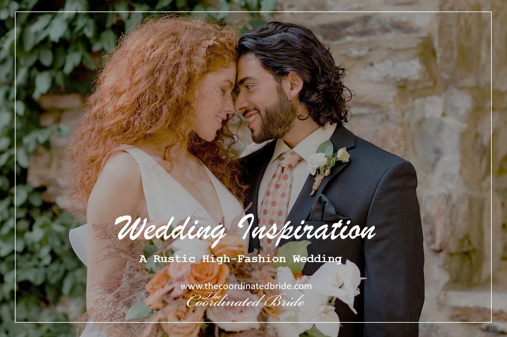 Rustic High-Fashion Wedding Inspiration Shoot