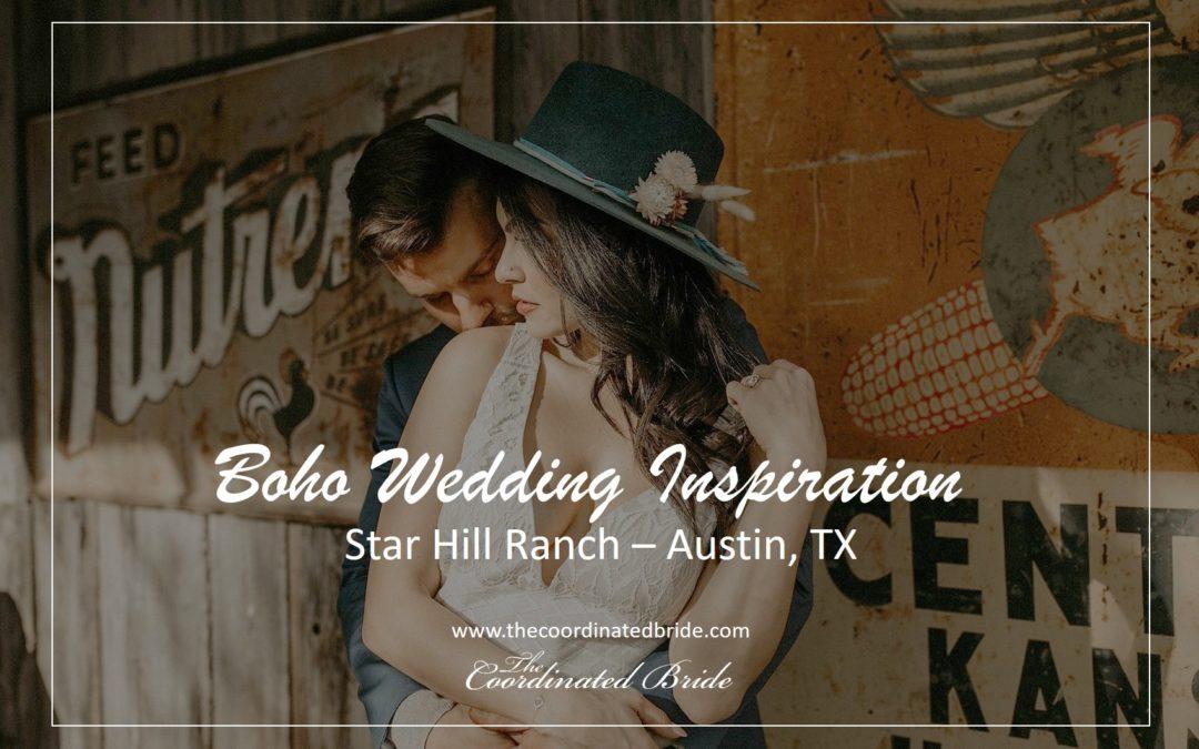 Western-Boho Chic Texas Wedding Inspiration