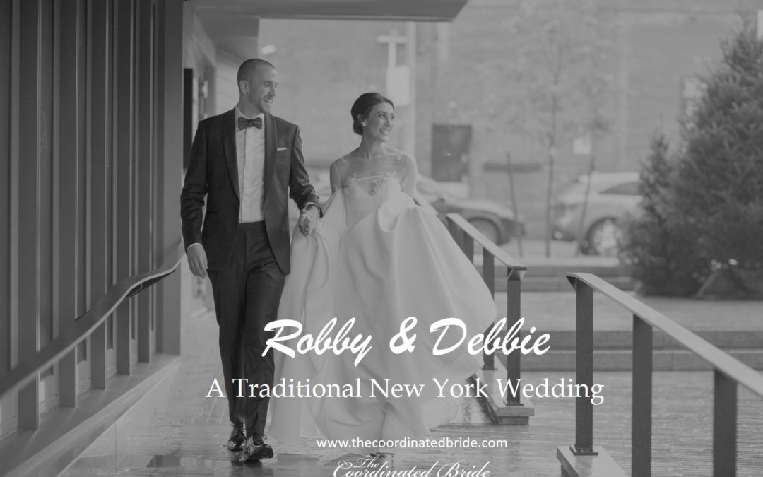 A Traditional New York Wedding, Robby & Debbie
