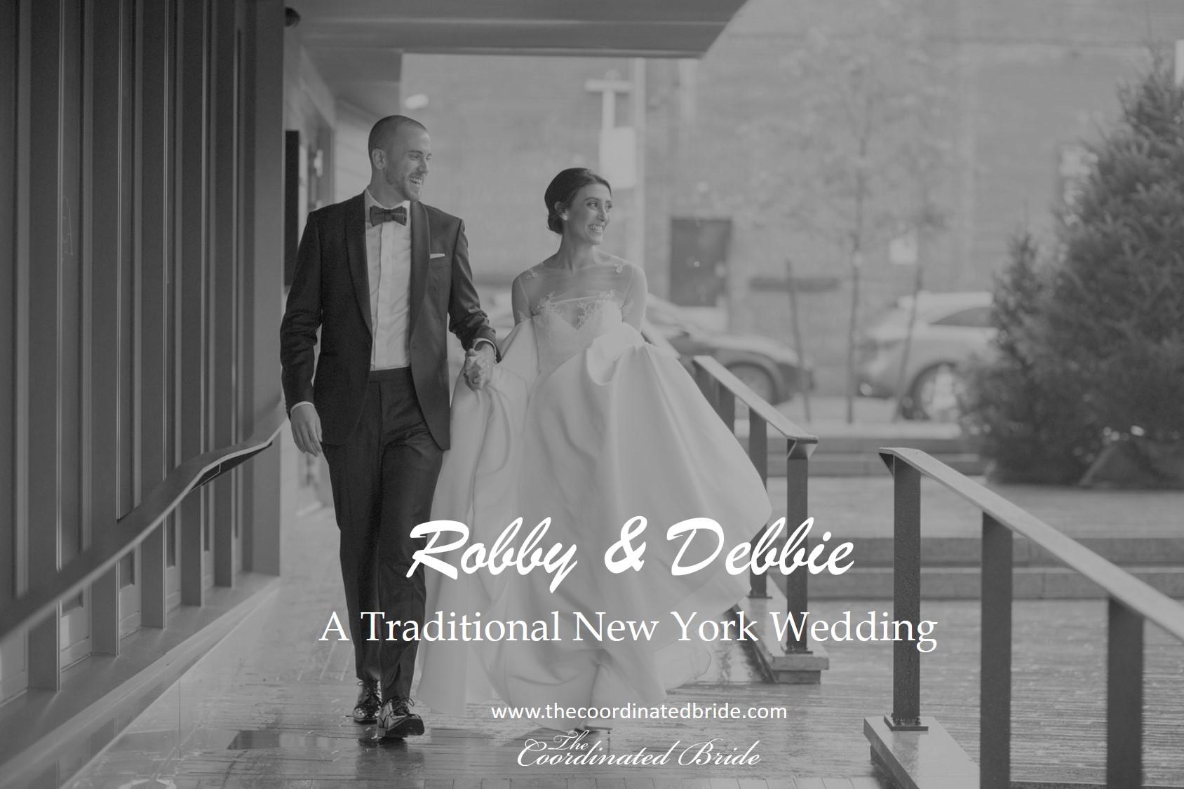 A Traditional New York Wedding, Robby & Debbie