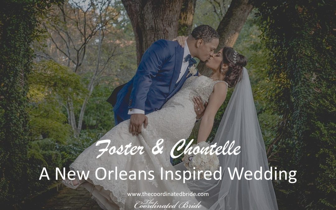 A New Orleans Inspired Wedding in South Carolina