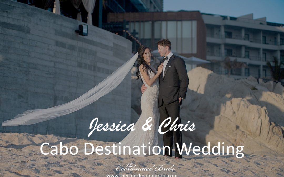 Glamorous Cabo Wedding at the Cape Resort, Jessica & Chris