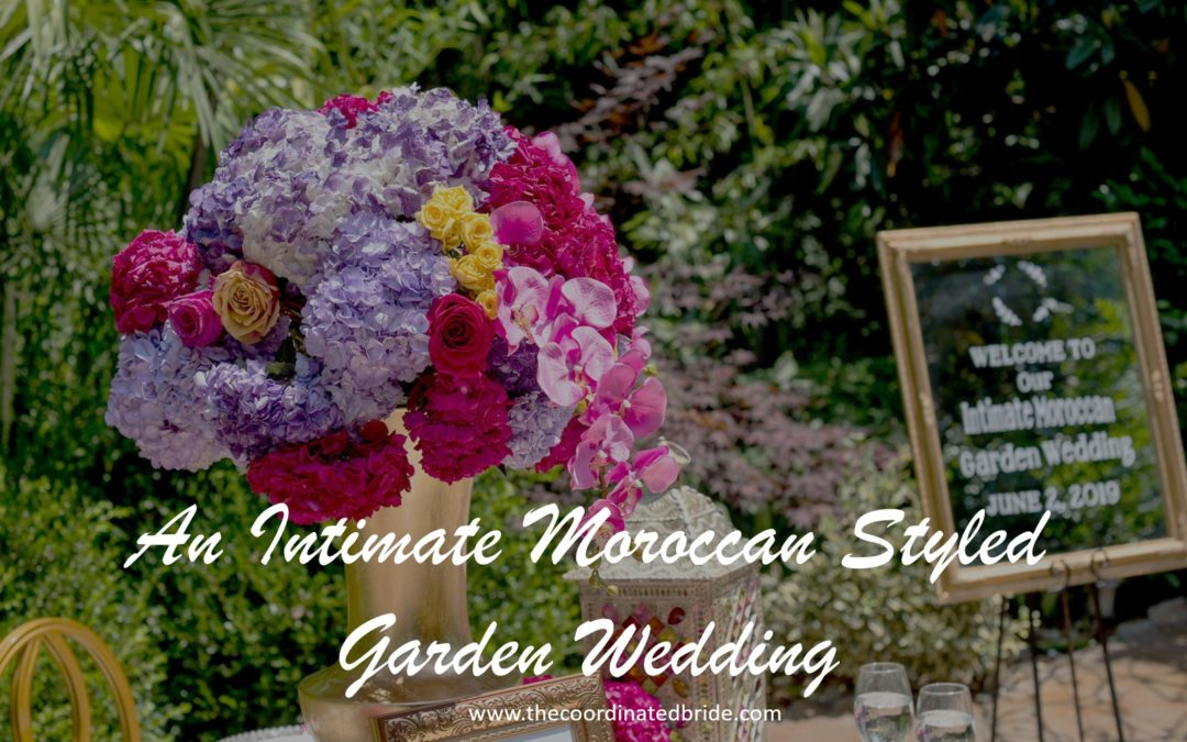 An Intimate Moroccan Styled Garden Wedding