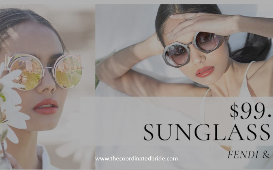 $99 Designer Sunglasses – Fendi, Dior, Burberry & More Today on Rue La La