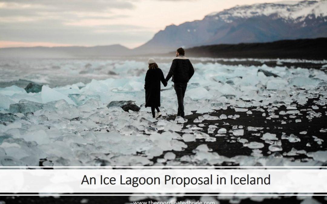 A Picturesque Ice Lagoon Engagement in Iceland