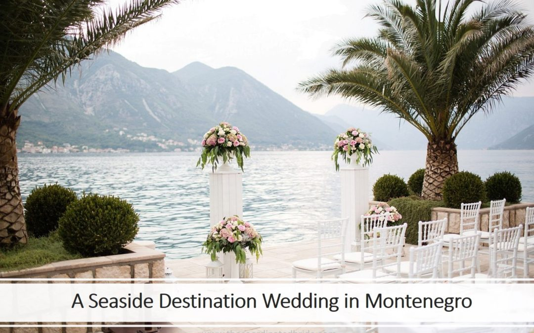 A Serene Seaside Wedding in Kotor, Montenegro