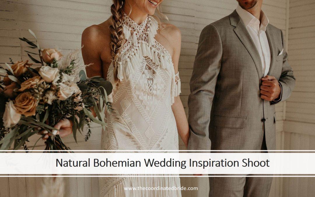 Natural Bohemian Wedding Inspiration in Texas