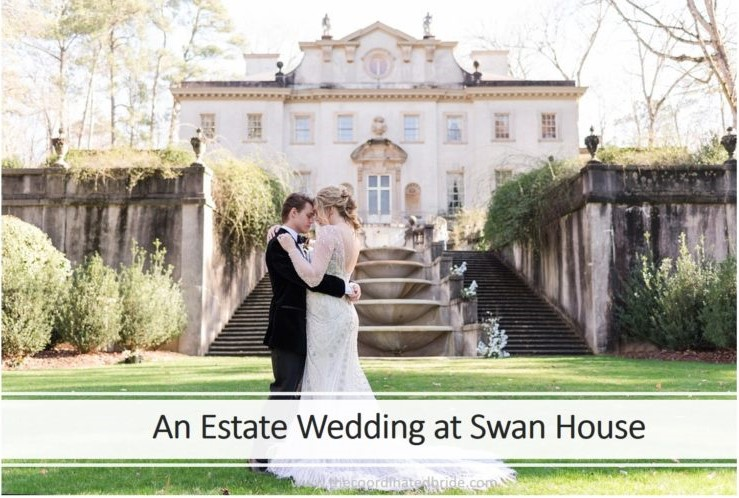 Elegant Estate Wedding at the Swan House