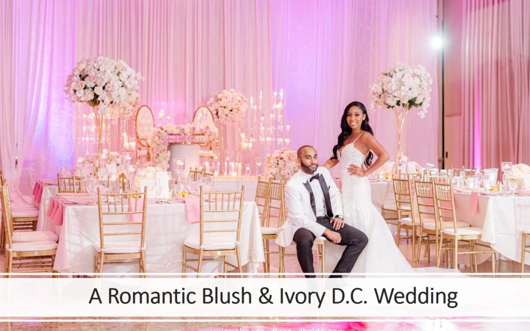 A Romantic Blush & Ivory September Wedding, Jene & Vance