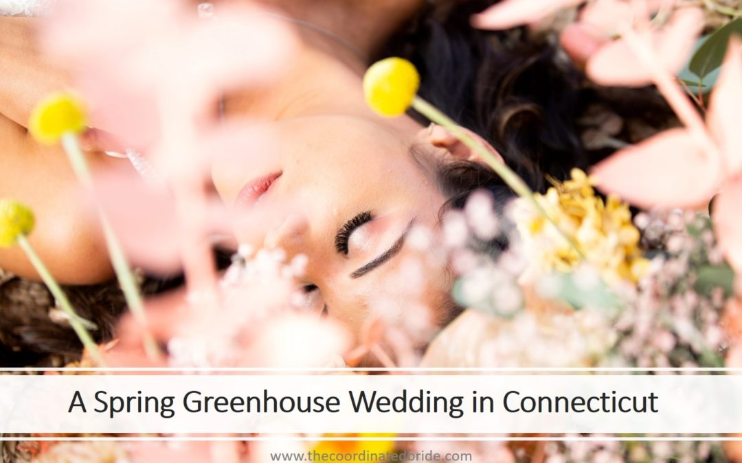 Spring Greenhouse Wedding Inspiration in Connecticut