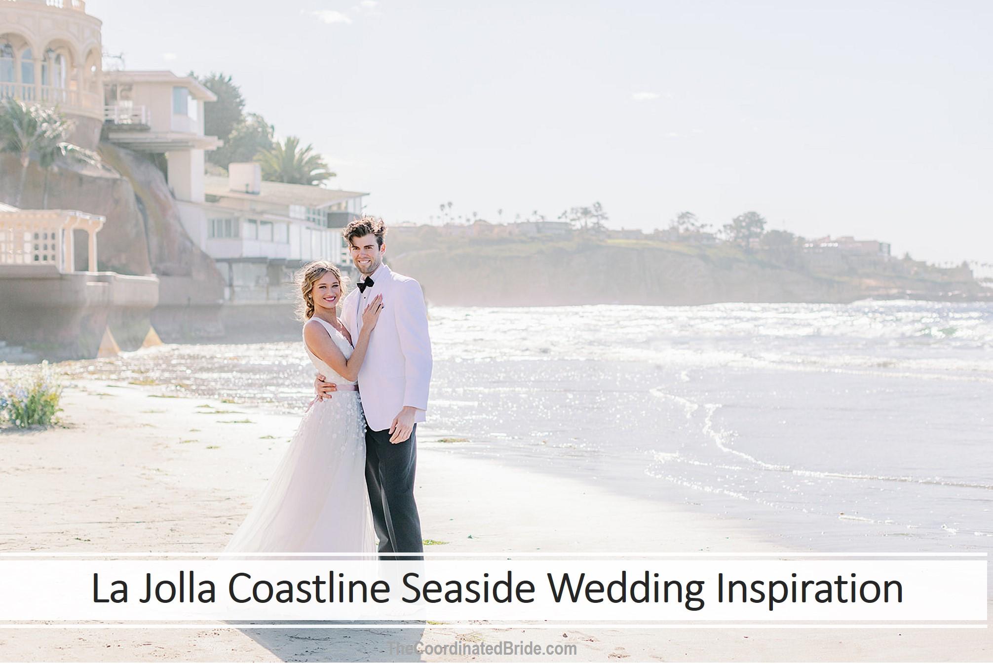 Bright Seaside Styled Wedding on the La Jolla Coastline