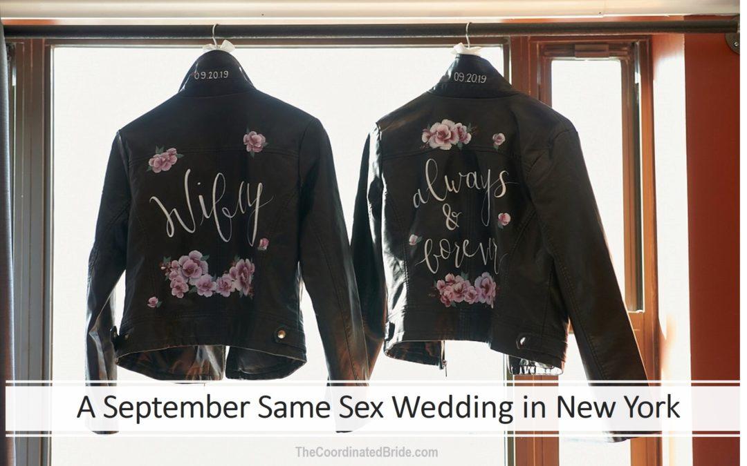 A September Same Sex Wedding in New York – Judy & Gwendolyn