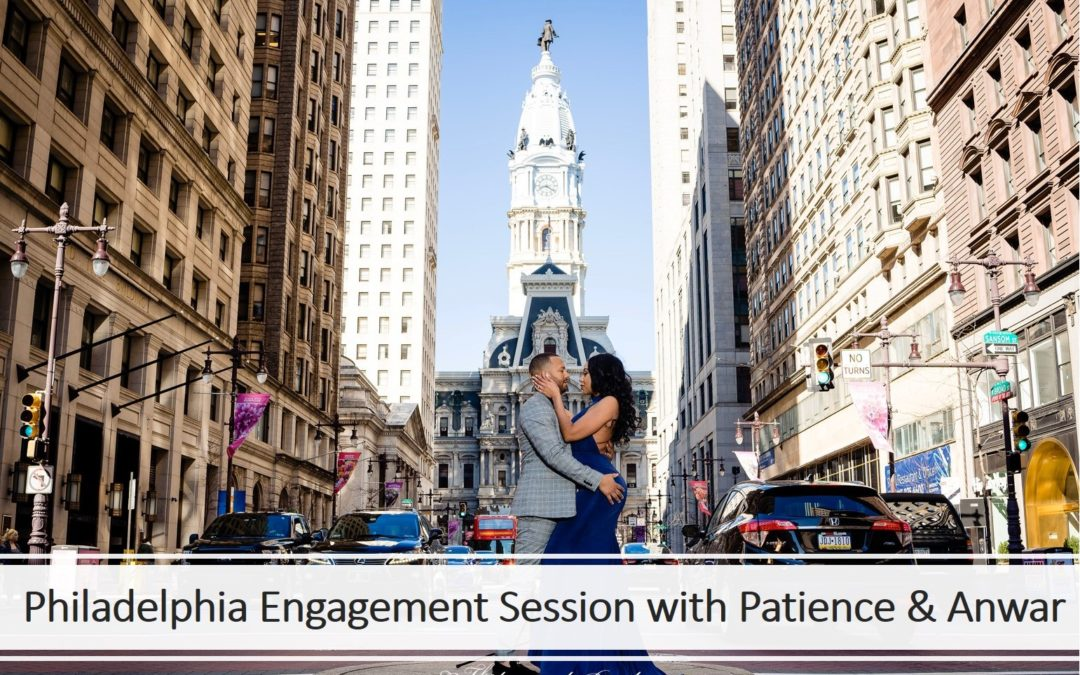 Philadelphia City Hall Engagement | Patience + Anwar