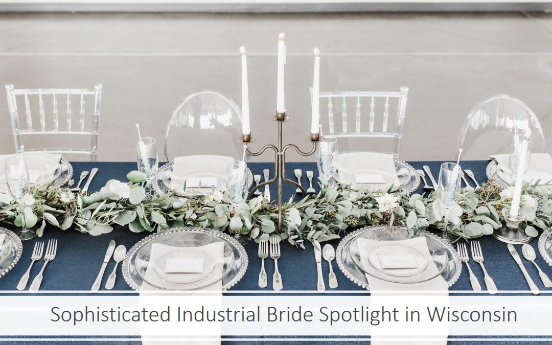 Sophisticated Ivy & Ice Blue Wedding Inspiration