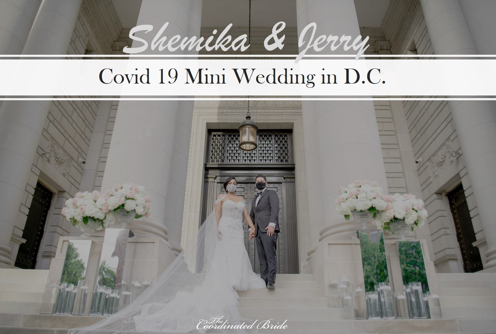 A Wedding for Two at the Carnegie Institution for Science, Shemika & Jerry
