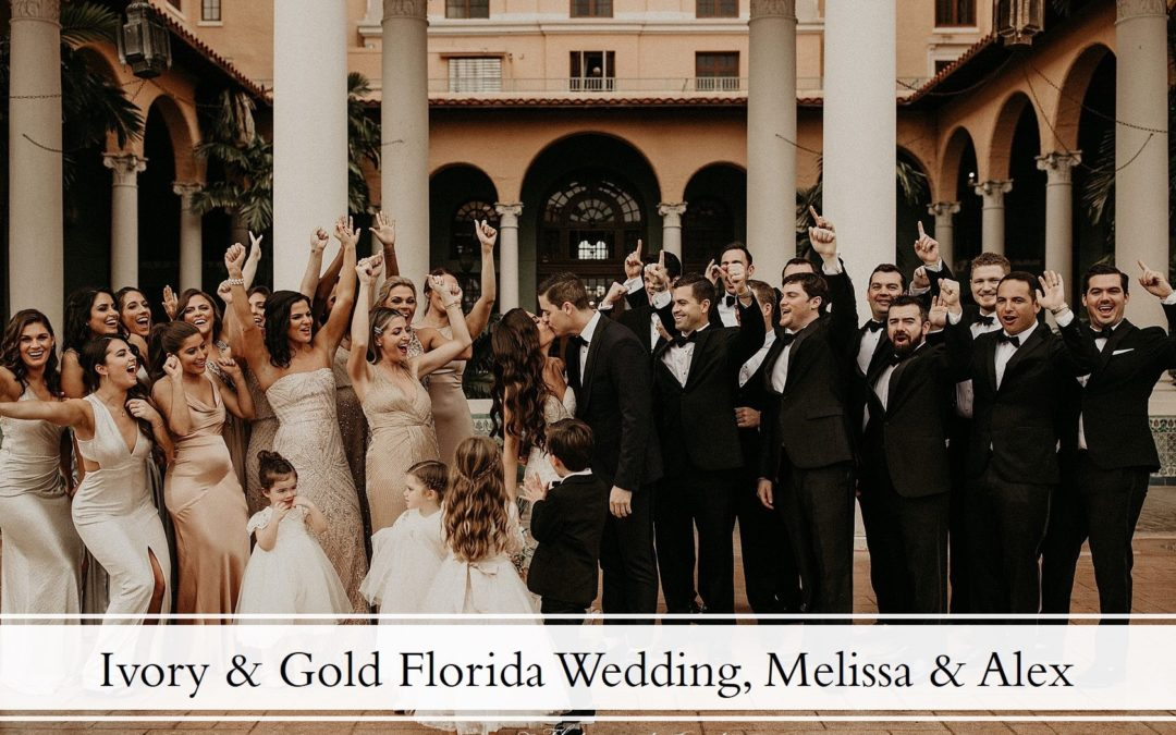 A Florida Wedding at the Biltmore Hotel in Coral Gables, Melissa & Alex