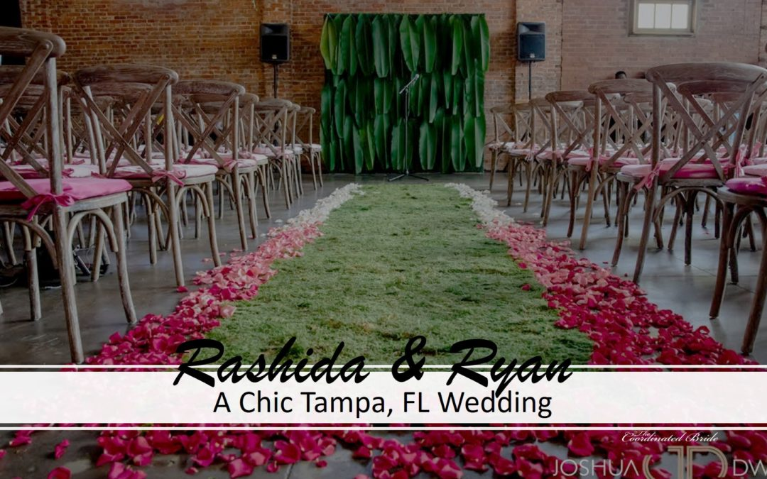 A Chic Tampa Wedding, Rashida & Ryan