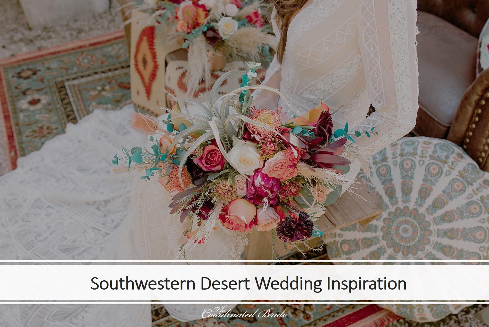 Southwestern Desert Wedding Inspiration Shoot in Texas