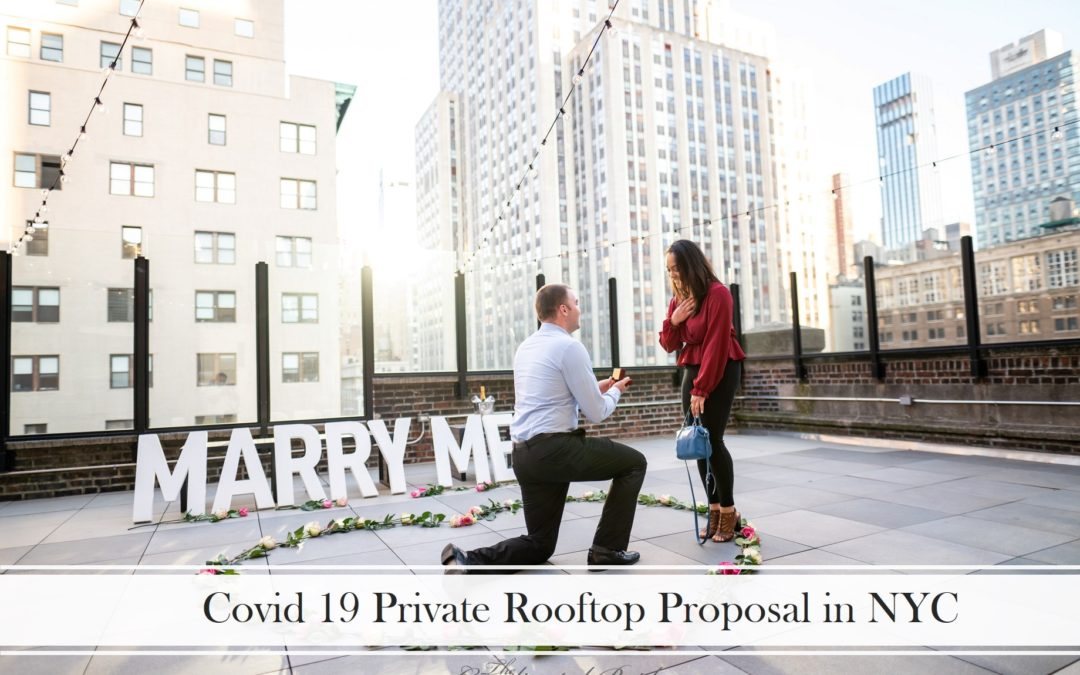 First Responders NYC Rooftop Proposal, Noemi & Michael