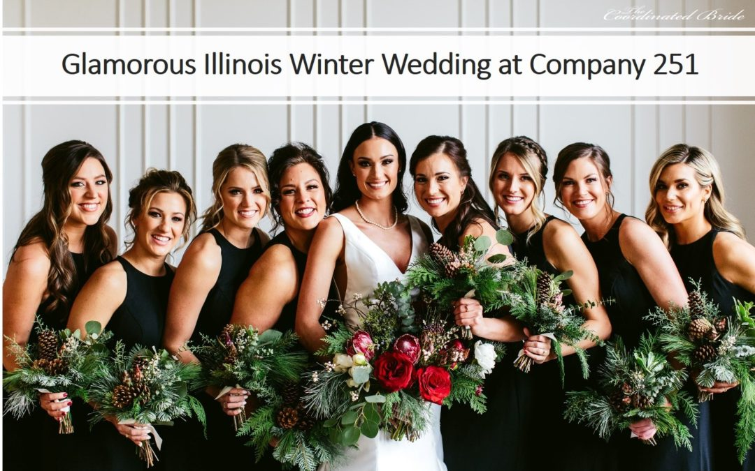 A Glamorous Illinois Winter Wedding at Company 251